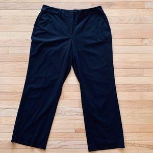 LIZ CLAIBORNE WOMAN BLACK DRESS PANTS SIZE 14W